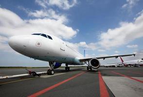 aeronaves na pista