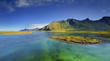 noruega, paisagem deslumbrante foto