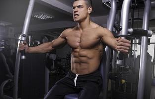 homem de fitness foto
