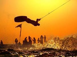 prancha de wakeboard foto