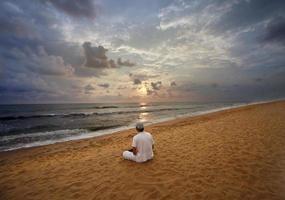 meditando foto