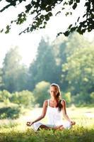 yoga lótus foto