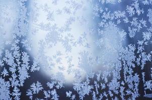 fundo gelado de inverno foto