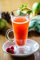 bebida de inverno foto