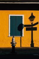 arquitetura do bairro francês de nova orleans foto