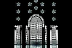 mesquita de arquitetura árabe hassan 2 foto