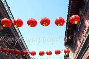 lanterna chinesa foto
