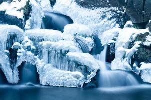 cachoeira no inverno