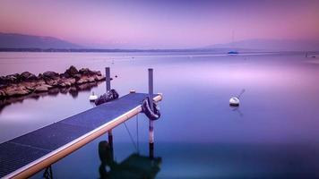 lago da paz foto