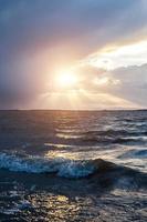 lago ventoso