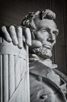 estátua memorial de lincoln foto