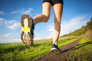 correndo ao ar livre foto