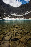 lago iceberg foto