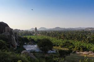 belo templo hindu foto