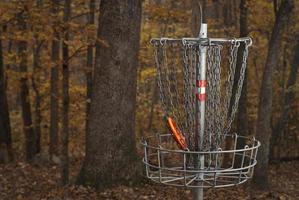disco de golfe foto