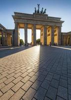 portão de brandemburgo, berlim foto