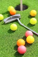 bolas de golf foto