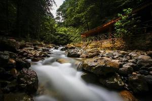 água em cascata