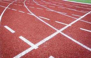 pista de atletismo foto