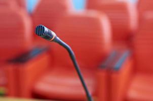 sala de conferências de negócios foto