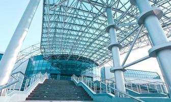 fachada do centro comercial foto