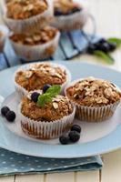 muffins de cenoura vegana com banana