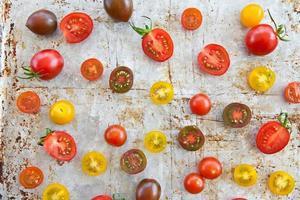 vários tomates