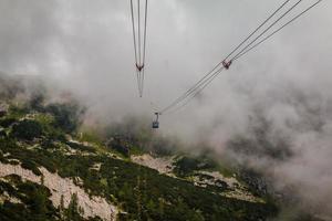 gôndola de alta altitude foto