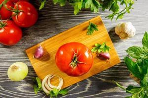 tomate fresco foto