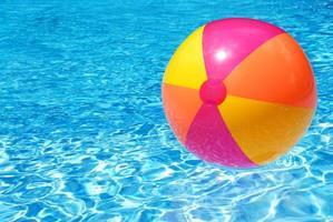 bola de praia foto