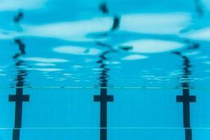 linha de natação foto