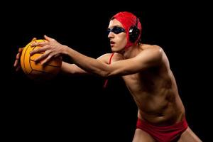jogador de pólo aquático foto
