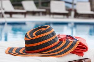 acessórios para banhos de sol foto