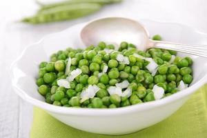 salada de ervilha foto