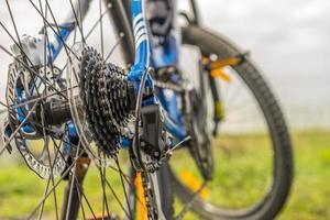 engrenagens de bicicleta foto