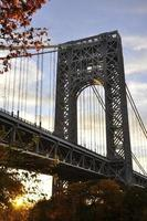 ponte de george washington foto