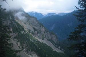montanha do Alasca foto
