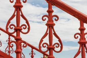 ferro fundido vermelho foto