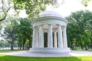 memorial de guerra do distrito de colômbia washington dc foto
