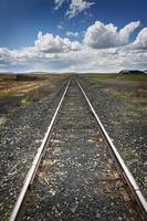 ferrovia para lugar nenhum foto