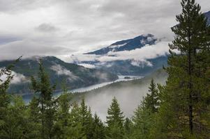 Lago Ross no outono foto