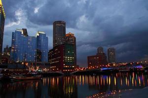 Boston Im Gewitter foto