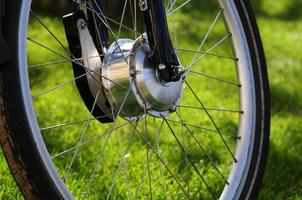 motor de bicicleta foto