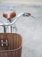 detalhes da bicicleta foto