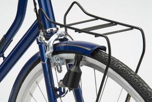 ducto bicyle dínamo titular da bagagem detalhe