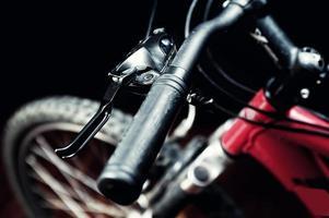 detalhe da bicicleta