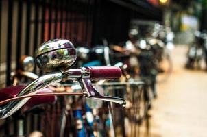sino de bicicleta foto