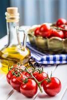 tomates. tomate cereja. coquetel de tomate. foto