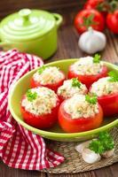 tomates recheados foto
