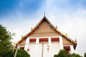 templo em bangkok, tailândia foto